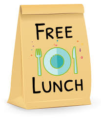 Free lunches are available from 8 a.m-12:00 p.m. daily for the community at DOOR 4