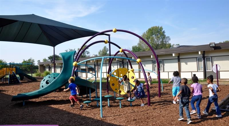 Richton's New Playground- Our wait is finally over! (Click the title to hear more about our playground and see additional pictures)