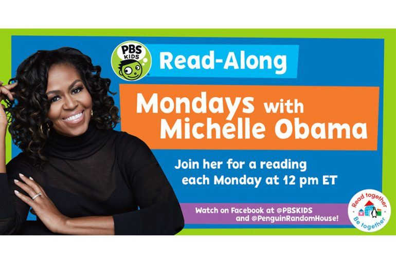 Mondays with Michelle Obama (Click the link for more details)