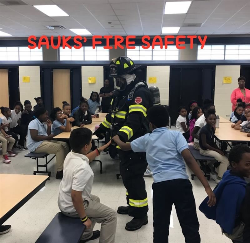 SAUK CELEBRATES FIRE PREVENTION WEEK