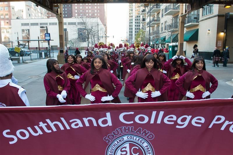 Marching Lady Eagles join Southland Ambassador Band