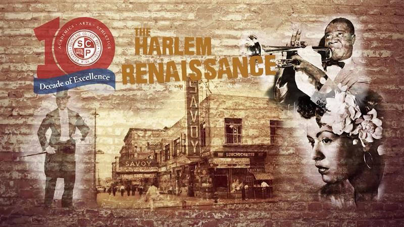 "Southland College Prep's Virtual Celebration of Black History Month - the ""Harlem Renaissance"" -- debuts tonight at 7:00 PM!"