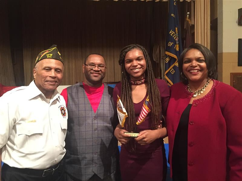 Southland senior places first in VFW Voice of Democracy contest