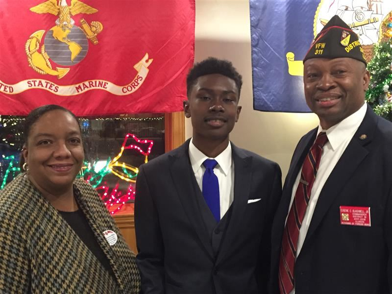 Southland sophomore wins first place in VFW Voice of Democracy competition; advances to state contest