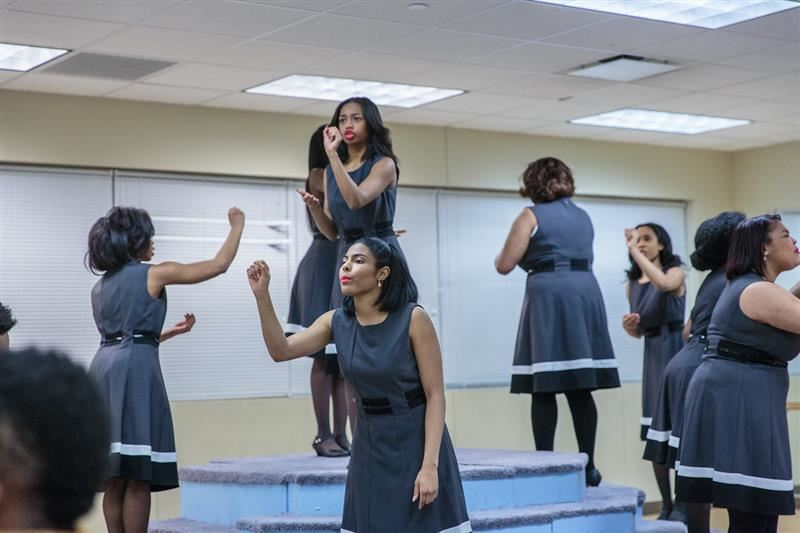 Southland College Prep's Group Interpretation team placed second in the Southwest Sectional tournament at Homewood-Flossmoor High School