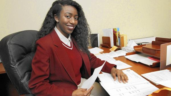 5/23/16 Daily Southtown - Southland College Prep Senior Gets $600,000 in Scholarships