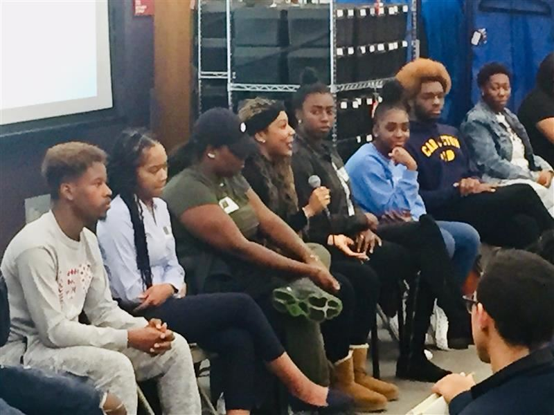 Alumni panel shares wisdom with students