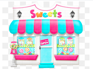 Every store is overflowing with sweet treats!  Click on the link above for a sweet challenge.