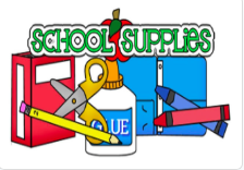 First Grade Supply List 2020-2021